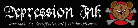 Tattoo Parlor Stouffville - Depression Ink Logo